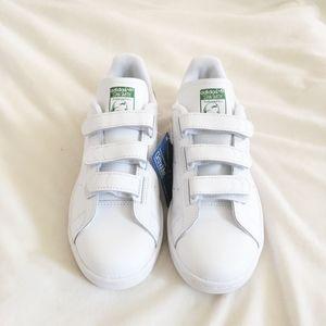 Adidas Men's Stan Smith CF Leather White/Green